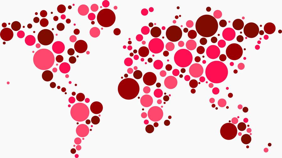 Tablo scholar world map